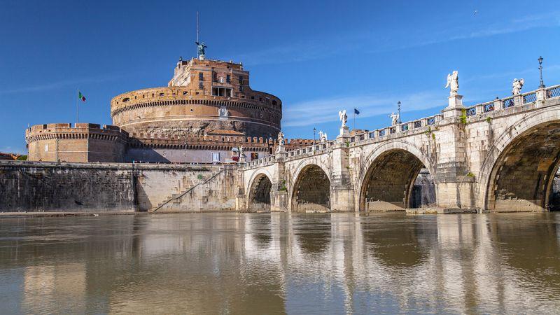 Sant Angelo Bridge Rome Photos Description Address On