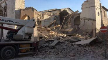 В центральной Италии произошло землетрясение в 6,6 баллов