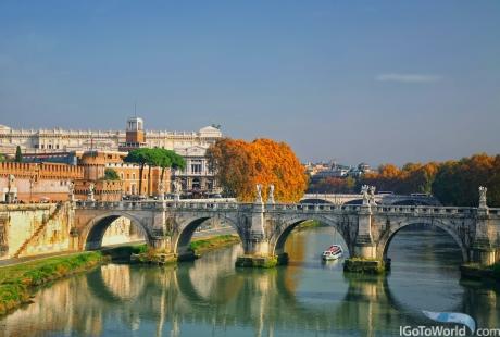 Brücke von Sant'Angelo, Rom