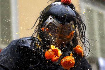 Битва апельсинов 2017, Ивреа