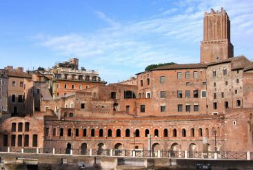 Trajan's Market and The Museum of the Imperial Forums, Rome