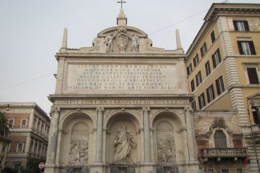 Fountain of Moses, Rome