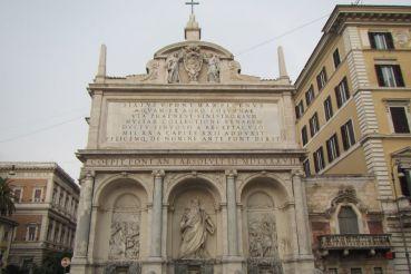 Фонтан Моисея (Аква-Феличе), Рим