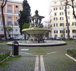 Fountain at Piazza dei Quiriti, Rome