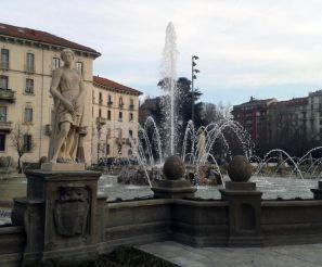 Фонтан «Четыре сезона», Милан