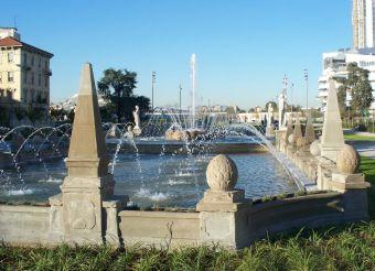 The Four Seasons Fountain, Milan