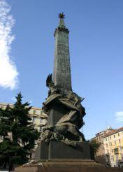 Cinque Giornate Monument, Milan