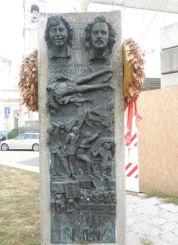 Monument to Claudio Varallie Giannino Zibecchi, Milan