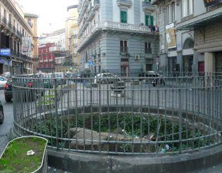 Greek Walls of Piazza Calenda, Naples