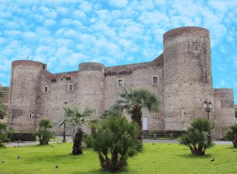 Замок Урсино, Катания