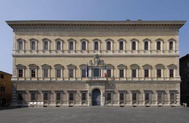 Дворец Фарнезе, Рим