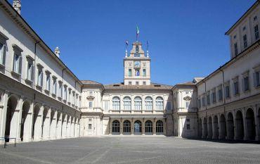 Квиринальский дворец, Рим
