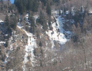 Waterfall Cascata dei Ciateli, Lanzada Commune