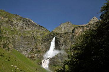 Waterfall Cascate del Serio, Valbondione Commune