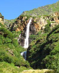 Waterfall Cascate de Valle del Vo, Schilpario Commune