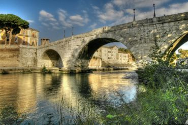 Bridge Pons Cestius, Rome