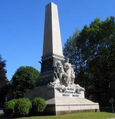 Памятник Крымской экспедиции, Турин