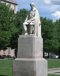 Памятник Чезаре Бальбо, Турин