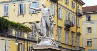 Памятник Гульельмо Пепе, Турин