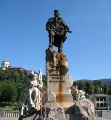 Памятник Джузеппе Гарибальди, Турин