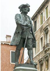 Carlo Goldoni Monument, Venice