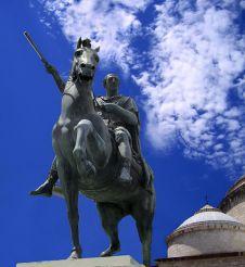 Statue of Ferdinando I di Borbone, Naples