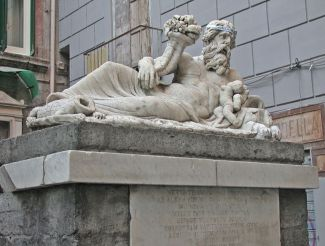 Statue of the Nile, Naples