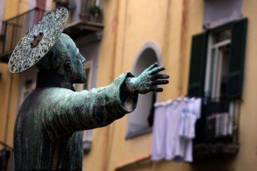 Statue of St. Cajetan, Naples