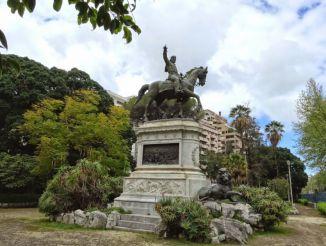 Statue of Giuseppe Garibaldi, Palermo