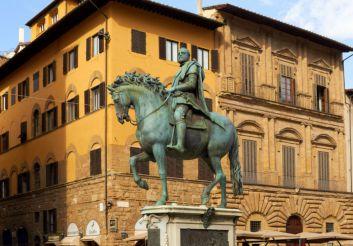 Equestrian Monument of Cosimo I, Florence