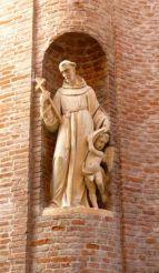 Статуя Франциска Ассизского, Римини
