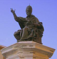Статуя Павла V, Римини