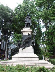 Statue of Domenico Rossetti, Trieste