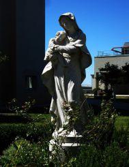 Statue in the Hospital Courtyard of Cattinara, Trieste