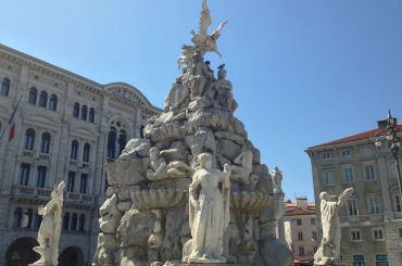 Fountain of the Four Continents, Trieste