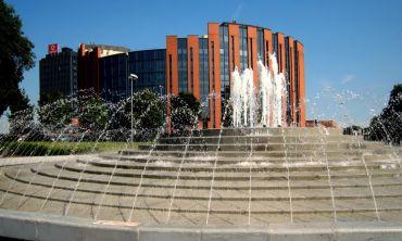 Fountain in Piazzale della Stanga, Padua