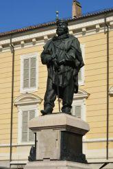 Памятник Джузеппе Гарибальди, Парма