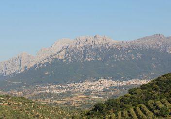 Mountain Monte Corrasi, Nuoro Province