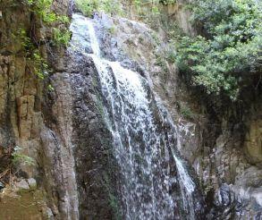 Sos Molinos Waterfall, Santu Lussurgiu