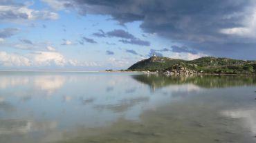 Соленое озеро Ноттери, Кальяри