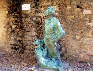 Sculpture to Peter the Coast, Nuoro