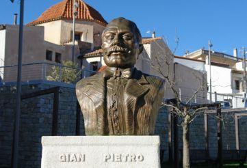 Bust of Gian Pietro Chironi, Nuoro
