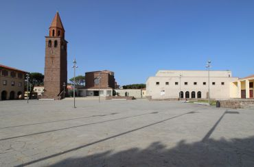 Bell Tower of the Church of San Ponziano Carbonia