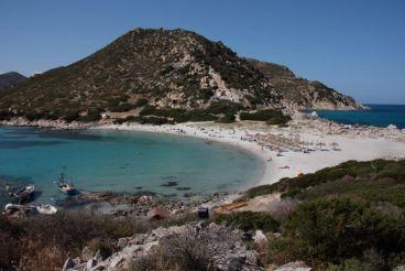 Punta Molentis Beach, Villasimius