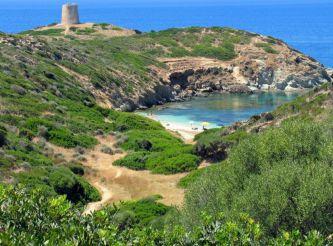 Piscinni Beach, Domus De Maria