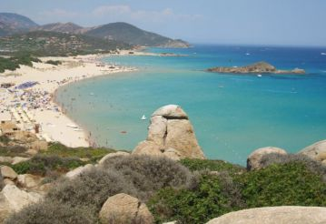 Su Giudeo Beach, Domus De Maria