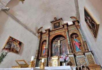 Church of Santa Rughe, Villanova Monteleone