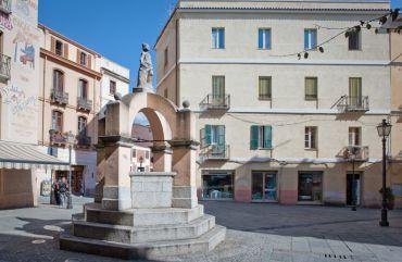 Fountain Su Maimoni, Iglesias