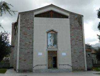 Church of the Beata Vergine di Lourdes, Gonnosfanadiga