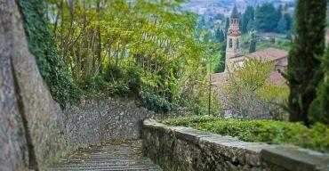 Scorlazzone steps, Bergamo